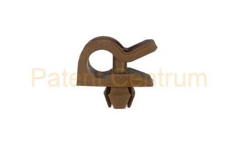20-003   RENAULT CLIO, THALIA, géptető kitámasztó pálca patent. Furat: 5*5 mm Rud. átm.: 6 mm Szín: barna