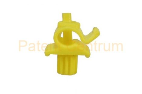 20-007    FORD géptető kitámasztó pálca patent.  Csap: 7,2*7,2 mm Rud. átm.: 5,5-6 mm Szín: sárga.  Gyári cikkszám: 6870622