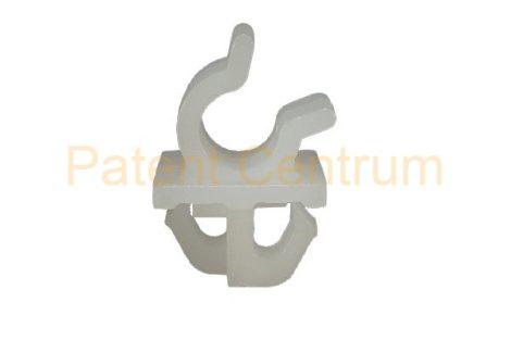 20-009   JAPAN modellek, TOYOTA géptető kitámasztó pálca patent Rud. átm.: kb: 7,5 mm Szín: fehér.  Gyári cikkszám: 94530154 53455-14020