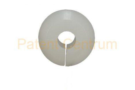 20-018  FORD géptető kitámasztó pálca rögzítő patent.  Furat: 14,5 mm Rud. átm.: 7 mm Szín: fehér.   Gyári cikkszám: 6068981