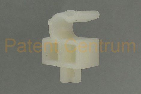 20-027    HONDA  géptető kitámasztó pálca rögzítő patent.  Rud. átm.: 7,5 mm. Gyári cikkszám: 90677-671-0031