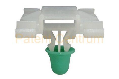 21-003  VOLKSWAGEN GOLF III., VENTO díszlécrögzítő, első ajtó középső patent.   Gyári cikkszám: 1H0853585B