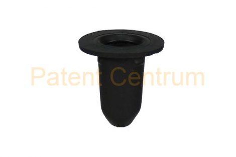 21-0100  VOLKSWAGEN, SEAT, SKODA, AUDI.  Küszöb hüvely gumi  patent.  Furat: 9 mm.   Gyári cikkszám: 3C0853586, 3C0 853 586
