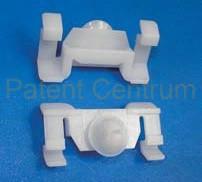 21-0113  MERCEDES díszléc patent,  W202, W208, R170.  Gyári cikkszám: A0099884178