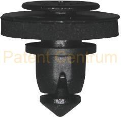 21-0138  Volkswagen tolóajtó díszléc takaró  patent.   Gyári cikkszám: 7H0843658A