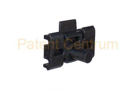 21-040   MERCEDES 190, W201, 88' díszléc rögzítő patent Csap: 6,5 mm Szín: fekete.   Gyári cikkszám: A2019880678