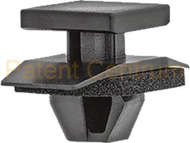 21-178  HONDA CR-V díszléc patent. Gyári cikkszám: 91513-T0A-A01  91513-T0A-A21