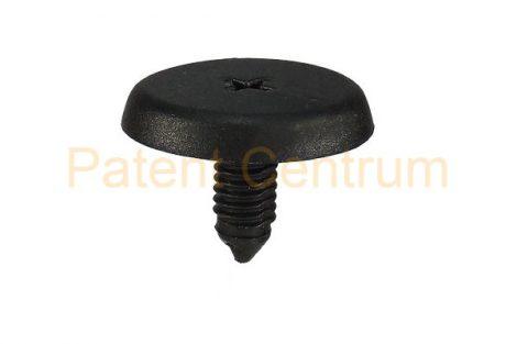 22-012   FIAT PANDA Tetődíszléc műanyag csavar.  Méret: M6 mm.   Gyári cikkszám: 735357223
