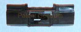22-015  VOLVO S60, S80, V70,  V70XC tetődíszléc patent.  Gyári cikkszám: 8622906