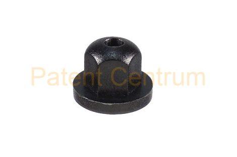 26-010    FORD Fiesta lökhárító, dobbetét, patent, anya. Méret: 4,2 mm Alátét: 14 mm Magasság: 10 mm. Gyári cikkszám: 6634877
