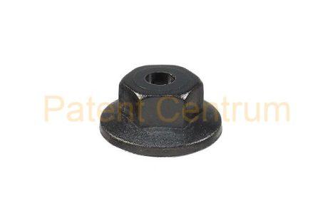 26-011   FIAT DUCATO 2001-2006 dobbetét  patent, anya.  Méret: M5 mm Alátét: 16 mm Magasság: 7 mm Szín: fekete.  Gyári cikkszám: 14203480, 14203487