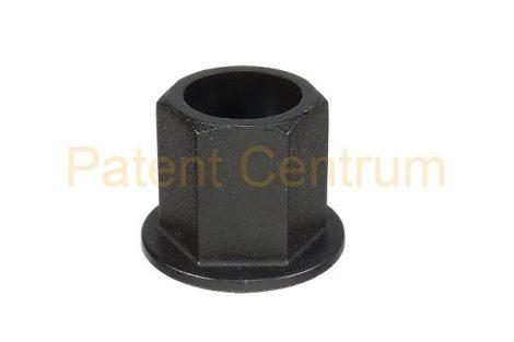 26-014   FIAT PANDA 2003 lökhárító, dobbetét patent, anya. Méret: 4,8-6,3 mm Alátét: 18 mm Magasság: 14 mm Szín: fekete.  Gyári cikkszám: 51711715