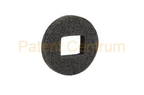 28-003   Univerzális szivacsalátét.  Belső átmérő: 7*9 mm Külső átmérő: 20 mm Szín: sötét szürke