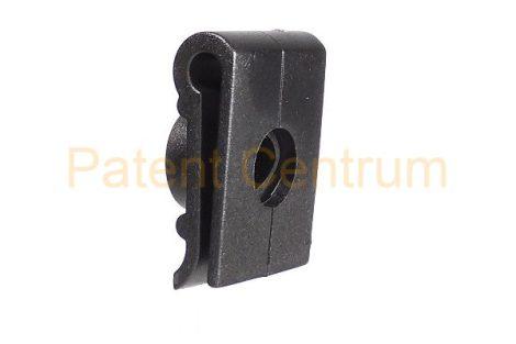 29-001    MITSUBISHI  dobbetét rögzítő patent. Méret: 16*23 mm Lemez. furatk.: 10 mm.  Gyári cikkszám: MR215512