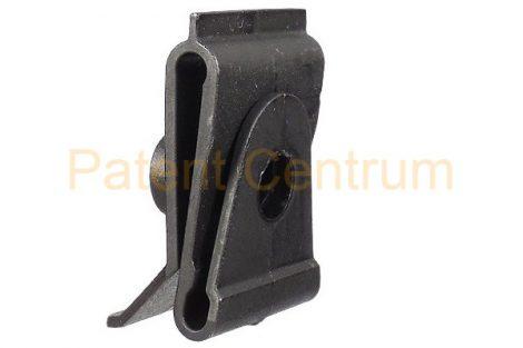 29-003   TOYOTA, MAZDA dobbetét rögzítő patent.  Méret: 20*30 mm Lemez. furatk.: 13 mm.   Gyári cikkszám: 53879-14010, LA01-56-135