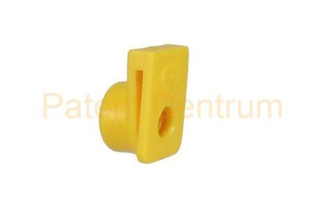 29-007   FIAT 126, Tempra, Tipo.  Lemez. furatk.: 8 mm.  Szín: sárga.  Gyári cikkszám: 14188680