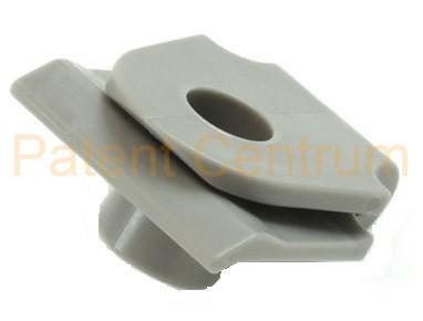 29-021  MAZDA lökhárító,  dobbetét patent. Gyári cikkszám: C274-50-133