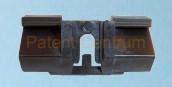 30-027  Volvo  S80 '98 -'06  szélvédő díszléc patent.   Gyári cikkszám: 9190966