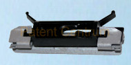 30-033  BMW X3 (E83) X3LCI (E83LCI) szélvédő díszléc patent. Gyári cikkszám: 51 31 3 448 374,  51313448374