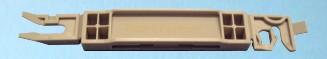 30-040  Peugeot 407 szélvédő díszléc patent.  Gyári cikkszám: 8123.90,  Eurocode 6544ASCSS1B