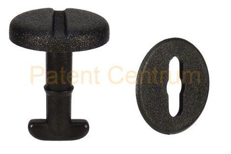 31-001  BMW E39-E46  szőnyegrögzítő patent.   Gyári cikkszám: 82119410191