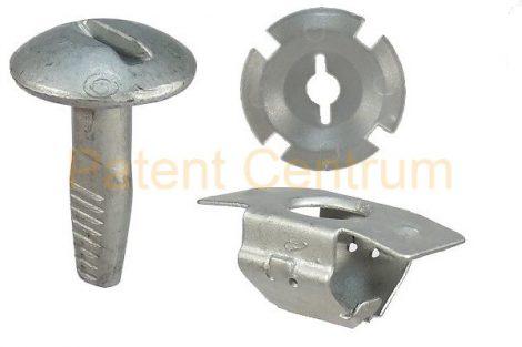 34-001  PEUGEOT, CITROEN alsó motorburkolat patent. Gyári cikkszám: 703016, 703017, 703018