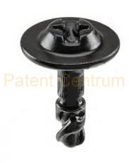 34-016 Audi alsó motorburkolat fém patent. Gyári cikkszám 8K0805121