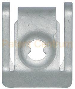 34-017 Audi alsó motorburkolat fém fogadó patent. Gyári cikkszám 8K0805922A