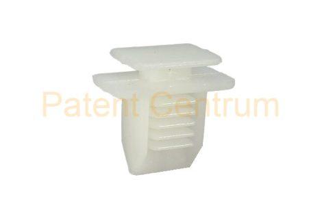 69-011  FIAT   oldalkárpit patent Csap: 7*10 mm Szín: fehér
