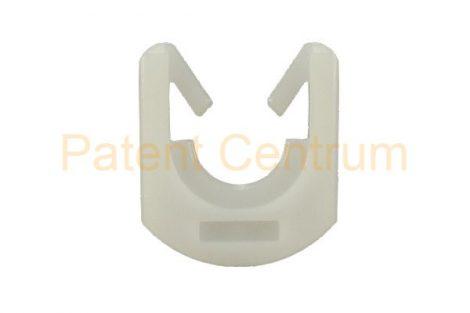 69-036   PEUGEOT 106,306,405 CITROEN AX, ZX, XM ablakrögzítő patent.  Szín: fehér