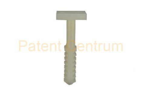 69-107   FIAT STILO, PUNTO 2003 ALFA ROMEO 156, 159 A' oszlop belsőburkolat rögzítő patent.  Gyári cikkszám: 60625450