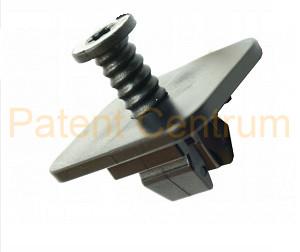 69-153 Volkswagen, Skoda hátsó lökhárító patent.  Gyári cikkszám: WHT-005-263