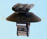 69-182  Citroen Jumpy IV '16-, Expert IV '16-, Peugeot 308,  13- kárpit patent.  Gyári cikkszám: 9802867380