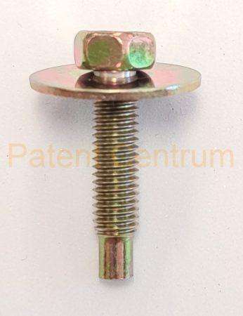 73-211  Hat lapfejű alátétes kadmium sárga metrikus csavar. M5X20mm