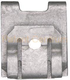 74-041 Mercedes lemezanya alsó motorvédő lemezhez. Gyári cikkszám: A0049943145