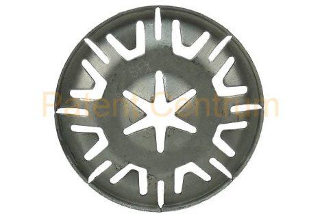 77-017  RÖGZÍTŐGYŰRŰ, VOLKSWAGEN  kipufogó hővédő lemez rögzítő patent. 4 mm csapra.